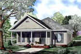 Plan Number 61041 - 1593 Square Feet