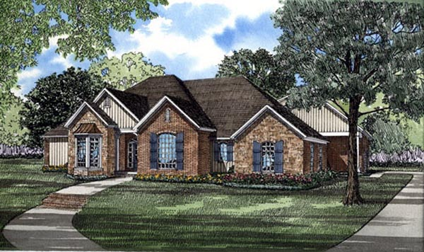 Traditional House Plan 61051 Elevation