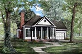Plan Number 61062 - 1404 Square Feet