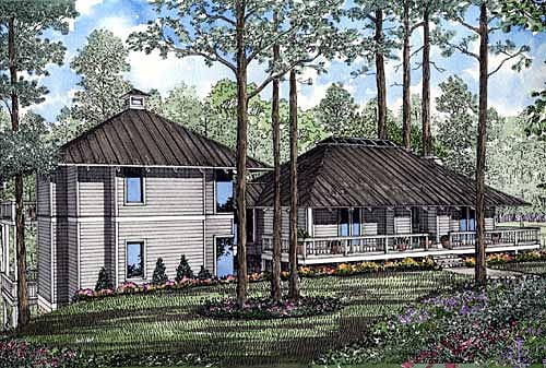 Country Southern House Plan 61066 Elevation