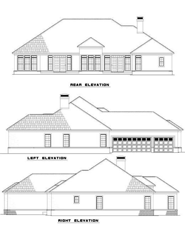 House Plan 61082 at FamilyHomePlanscom