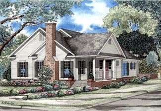 Traditional House Plan 61095 Elevation