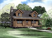 Plan Number 61119 - 1492 Square Feet