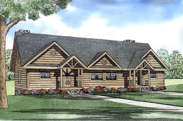 Multi family plan 61153 at for Multi family modular homes prices
