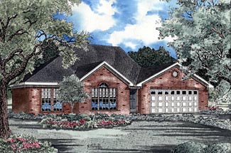 Traditional House Plan 61167 Elevation