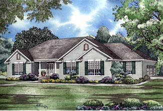 Traditional House Plan 61176