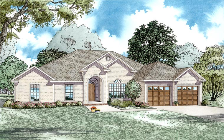 Traditional House Plan 61186 Elevation