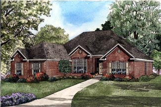 Traditional House Plan 61194 Elevation