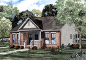 Plan Number 61203 - 1442 Square Feet