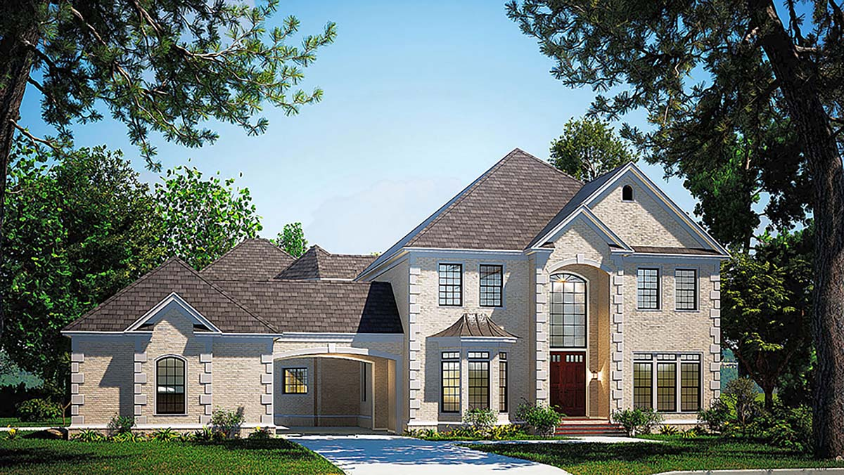House Plan 61205 At