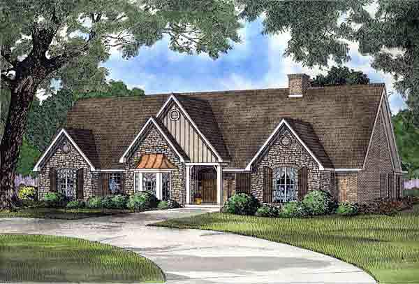 Traditional House Plan 61235