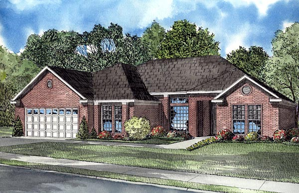 Contemporary House Plan 61253 Elevation
