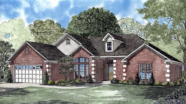Contemporary House Plan 61254 Elevation