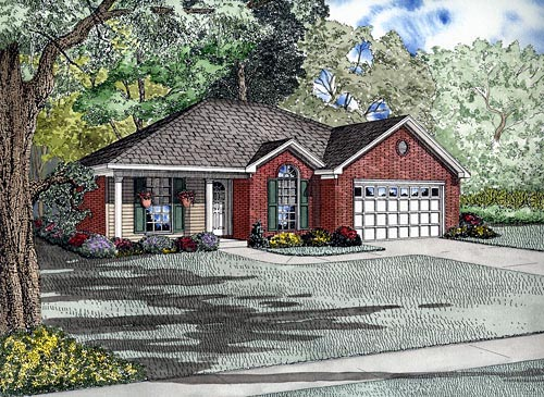 Traditional House Plan 61281