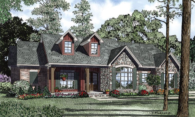 Traditional House Plan 61297