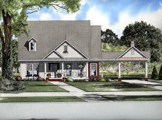 Cape Cod House Plan 61311 Elevation