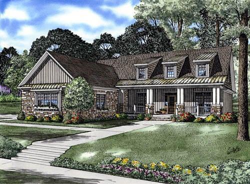 OneStory House Plan 61332