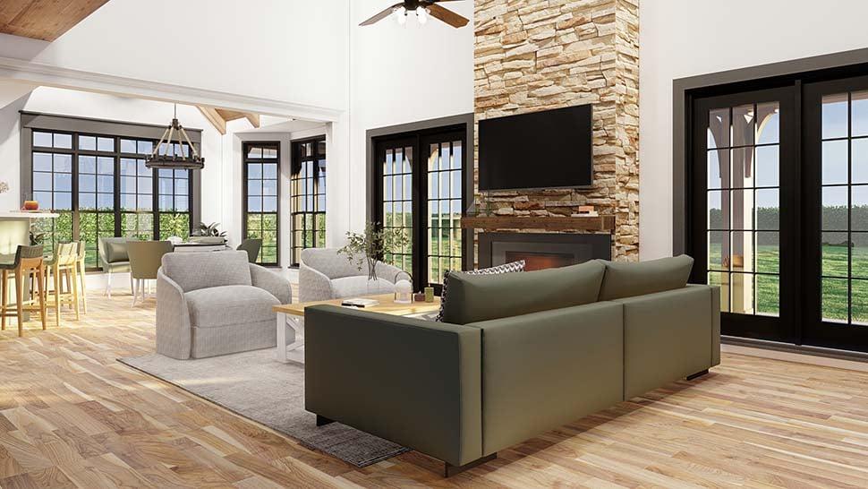 Craftsman European House Plan 61333