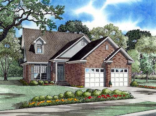 Country European House Plan 61356 Elevation