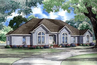 House Plan 61360 Elevation