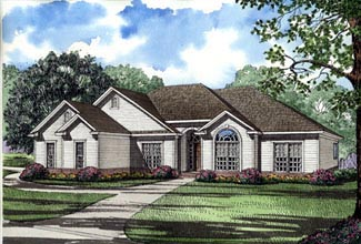 House Plan 61361 Elevation
