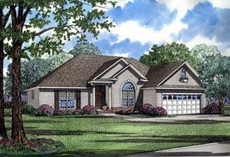 House Plan 61362 Elevation