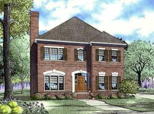 House Plan 61382 Elevation
