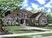 Plan Number 61394 - 3167 Square Feet