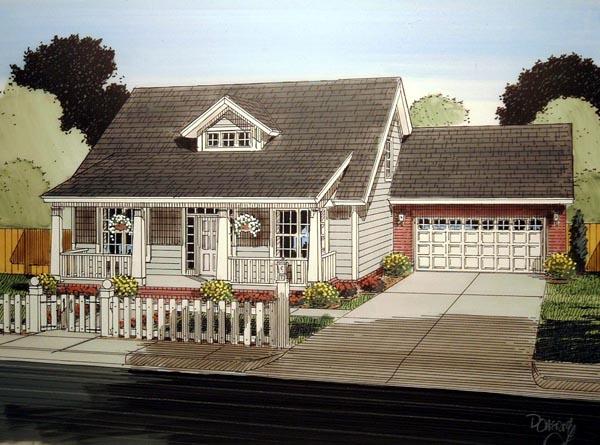 Southern House Plan 61402