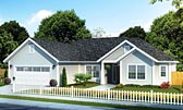 Plan Number 61420 - 1488 Square Feet