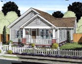 Plan Number 61429 - 1147 Square Feet