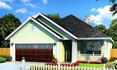 Plan Number 61431 - 1491 Square Feet