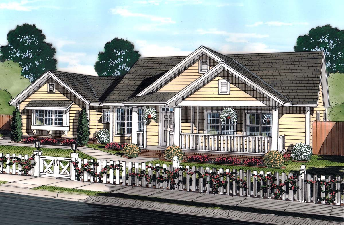 click here to see an even larger picture ranch traditional house plan