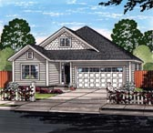 Plan Number 61466 - 1572 Square Feet