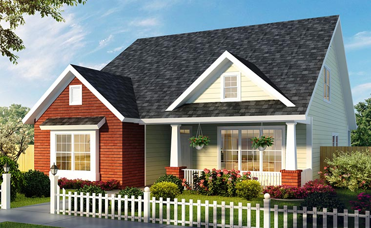 Cape Cod Cottage Country Traditional House Plan 61474 Elevation