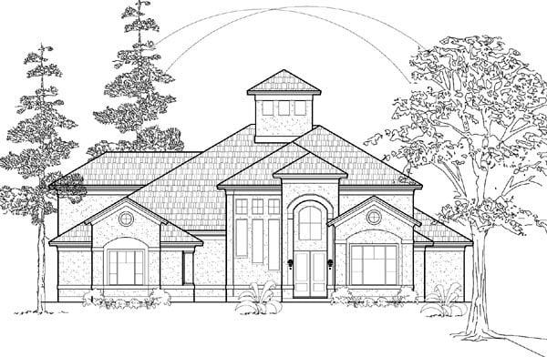 House Plan 61584