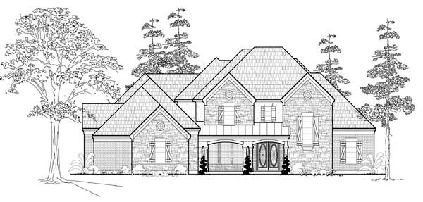 Farmhouse House Plan 61752 Elevation