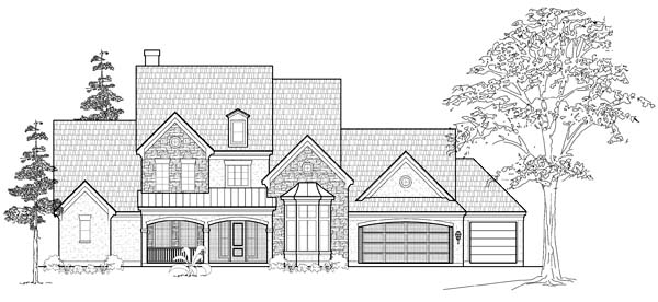 Traditional House Plan 61762 Elevation
