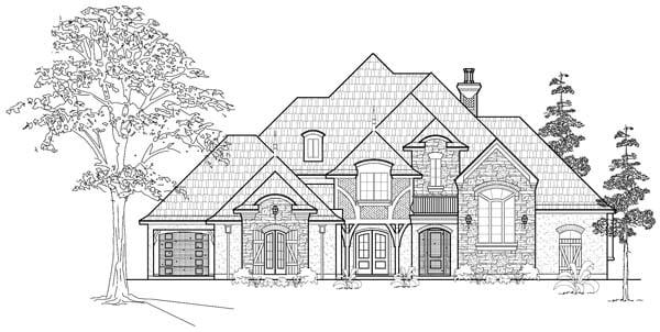 Victorian House Plan 61766 Elevation