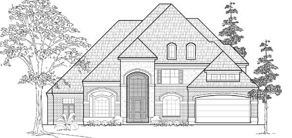 Victorian House Plan 61782 Elevation