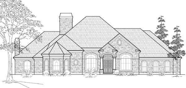 Victorian House Plan 61795 Elevation