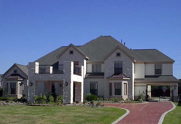 European House Plan 61801 Elevation