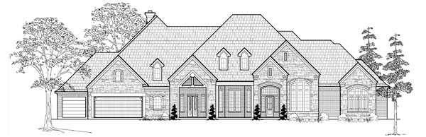 Traditional House Plan 61809 Elevation