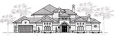 Plan Number 61815 - 4984 Square Feet