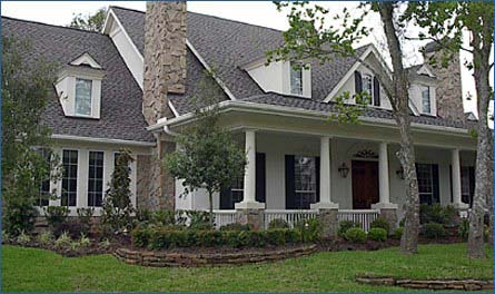 Traditional House Plan 61820 Elevation