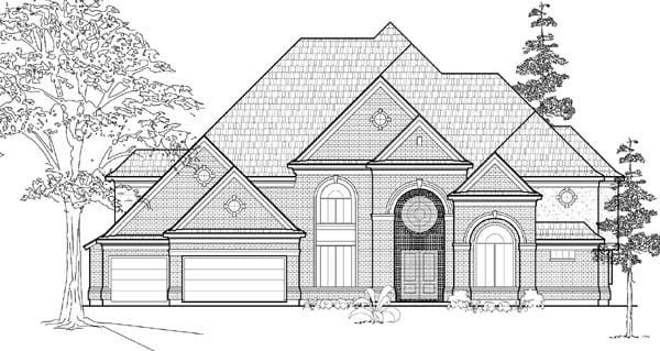 Victorian House Plan 61822 Elevation