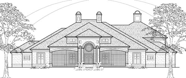 Traditional House Plan 61836 Elevation