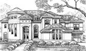 Plan Number 61846 - 5403 Square Feet