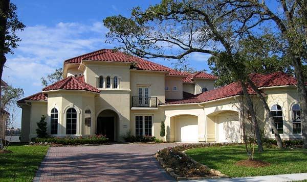 Mediterranean House Plan 61851