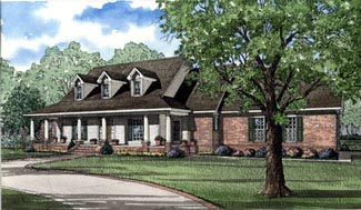 Traditional House Plan 62013